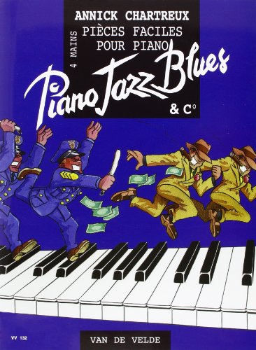 Piano Jazz Blues --- Piano 4 Ms por Chartreux Annick