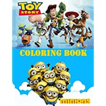 TOY STORY, MINIONS coloring book