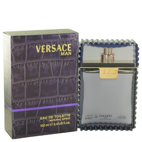Versace Man by Versace Eau De Toilette Spray 3.3 oz for Men by Versace