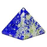 HARMONIZE Crystal Healing Lapislázuli Piedra Pirámide Reiki Espiritual De La Piedra Preciosa Regalo Feng Shui Vector De La Decoración