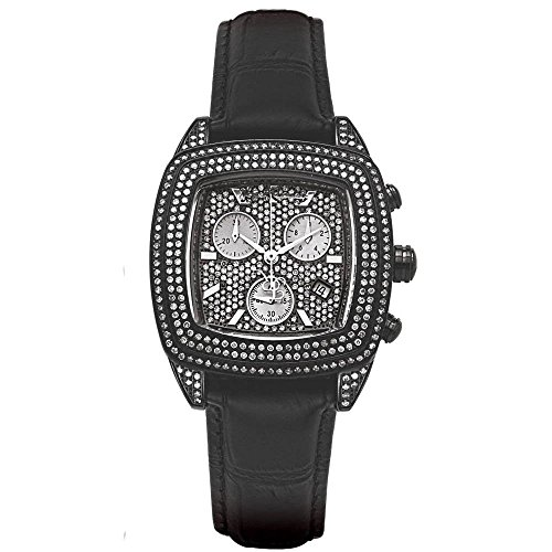 Joe Rodeo Diamond Orologio da donna - CHELSEA Nero 5 ctw
