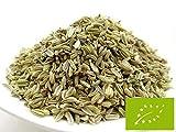 pikantum Bio Fenchel ganz | 1kg | grüner Gewürzfenchel | Fenchelsamen | Fencheltee | Süßfenchel