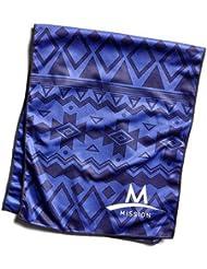 Mission Tech Knit Towel - Toalla para hombre, color morado, talla L