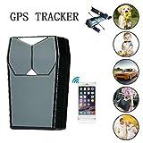 Hangang GPS Tracker Auto Peilsender Personen und Fahrzeugortung GPS Sender Magnetischer GPS Locator...
