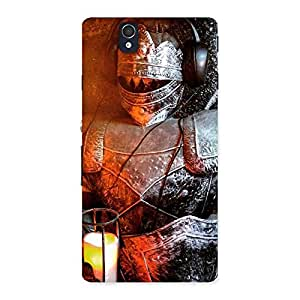 Warrior Knight Print Back Case Cover for Sony Xperia Z