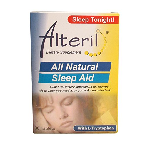 Alteril Biotab Nutraceuticals Sleep Aid With L-Tryptophan, Tablets 30 Ea