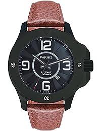 LIV MORRIS PARNIS MIYOTA Modell 3215 0732066354260 - Reloj para hombres color marrón