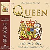 QUEEN - NOW WE'RE HERE: LIMITED EDITION ON CLEAR VINYL