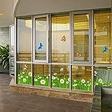 RALCAN Schmetterling Aufkleber Aufkleber Home Decor DIY Abnehmbare Art Vinyl Wandbild Für Glas/Kindergarten/Kinderzimmer/Flur/Schranktür, 60X20 cm