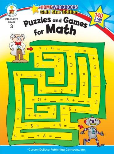 r Math, Grade 3 (Homeworkbooks) (Math Games Grade 4)