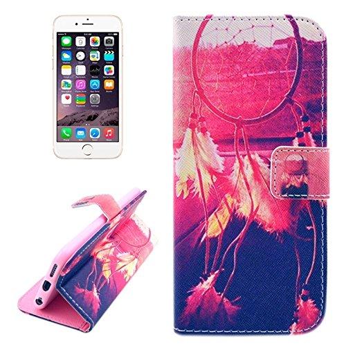 Phone case & Hülle Für iPhone 6 / 6S, Blumenmuster Kreuz Textur Leder Tasche mit Halter & Card Slots & Wallet ( SKU : S-IP6G-0576D ) S-IP6G-0576K