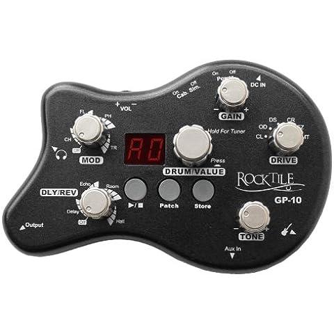 Rocktile Amplificador de auriculares / multiefectos GP-10