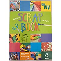 SCRAPBOOKS EXTRA LARGE JUMBO 64 COLOURED PAGES 370mm x 240mm [PACK OF 2 BOOKS]