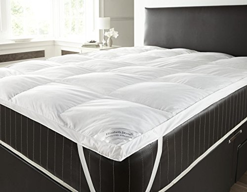 Goose Feather and Down Mattress Toppers 5cm Thickness Super King by Textiles Direct