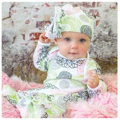 Mod Swad Baby Jungen Schlafsack mehrfarbig Lola Flowers Größe L