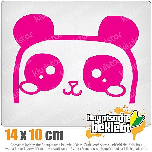 KIWISTAR halber Hamster 14 x 10 cm IN 15 FARBEN - Neon + Chrom! Sticker Aufkleber