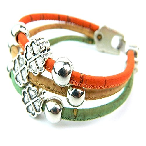 mb-cork-clover-colorful-cork-bracelet-handmade-original