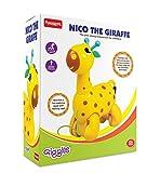 #7: (CERTIFIED REFURBISHED) Giggles Nico The Giraffe, Yellow