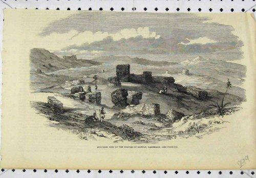 copie-supposee-de-saturn-carthage-de-temple-de-site-de-vue-vieille