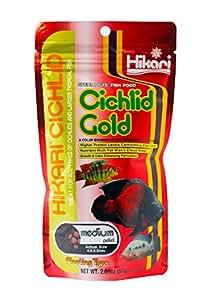 HIKARI Cichlid Gold | Mini Pellet | 57g | Aquarium Fish Food