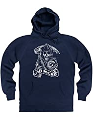Official Sons of Anarchy - SAMCRO Reaper Sudadera con capucha, Para hombre