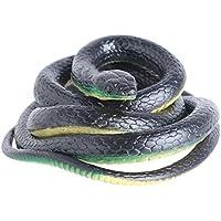 Dabixx 130 Cm Realistische Kunststoff Tricky Spielzeug Gefälschte Schlangen  Garten Requisiten Witz Streich Halloween