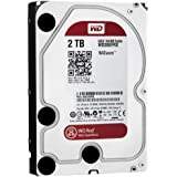 WD 2TB SATA lll Hard Drive for 24x7 Network Attached Storage - Red