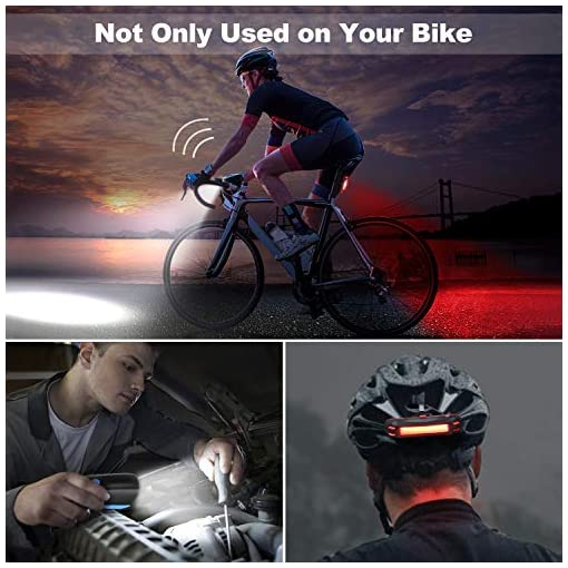 OMERIL Luci Bicicletta LED Ricaricabili USB