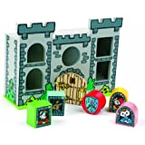 Tidlo Wooden Castle Shape Sorter