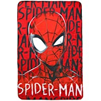 Spiderman Manta de forro polar, 150 cm x 100 cm, poliéster, muticolour,
