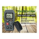 novecaps–Medidor de humedad para materiales de construcción/punta/Con Visualizador Digital/portátil