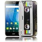 thematys Passend für Acer Liquid Z630 Kassette Silikon Schutz-Hülle weiche Tasche Cover Case Bumper Etui Flip Smartphone Handy Backcover Schutzhülle Handyhülle