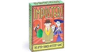 Clarendon Games Imposter! Family Mystery Juego de cartas