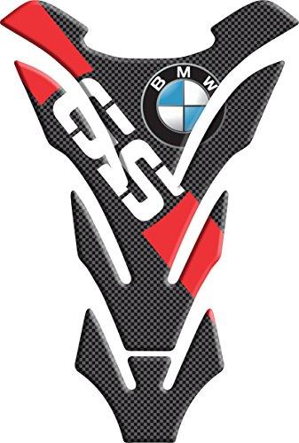 Tankpad Motorad Draht Muster Tankschutz ' BMW GS rot ' Polymer 3D