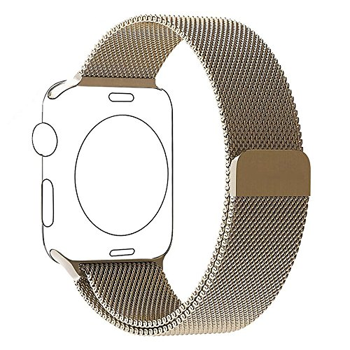 apple-watch-band-series-1-series-2-pugo-topr-42mm-royal-gold-apple-watch-strap-magnetic-milanese-loo