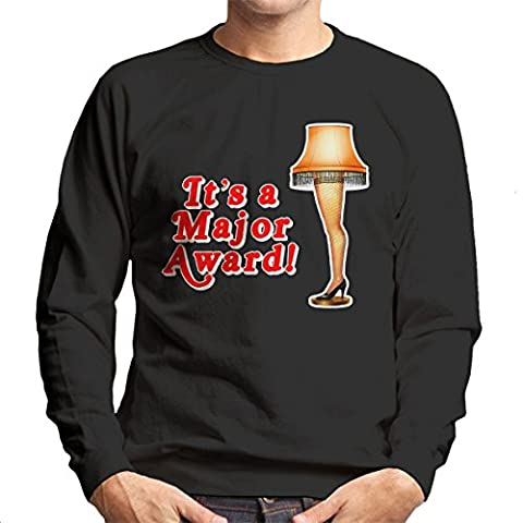 Its A Major Award Christmas Lamp Men's Sweatshirt