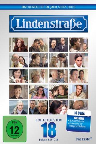 Die Lindenstraße - Das komplette 18. Jahr, Folgen 885-936 (Collector's Box,10 Discs)