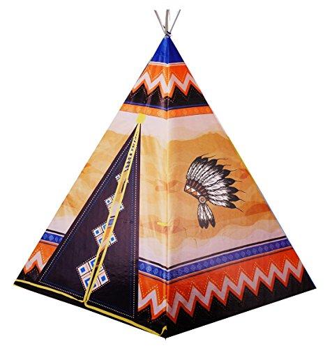 Nick and Ben Kinder-Spielzeug Indianer-Tipi Spiel-Tipi Spiel-Zelt Wigwam Indianer-Zelt (Iglu Kostüme)