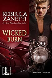Wicked Burn (Realm Enforcers Book 3) (English Edition)