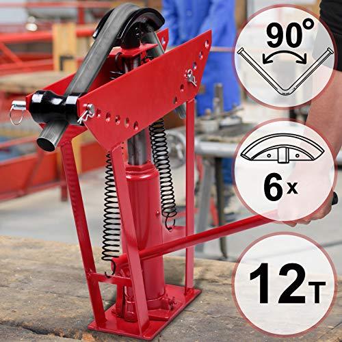 Cintreuse Hydraulique | Pression de Pressage 12 Tonnes, avec 6 Matrices Différentes, pour Tuyaux Ayant un...