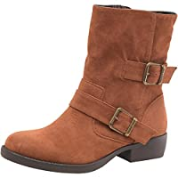 Rocket Dog Womens Tino Boots Chestnut