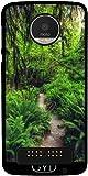 Hülle für Lenovo (Motorola) Moto Z Play - Waldweg by J McCool