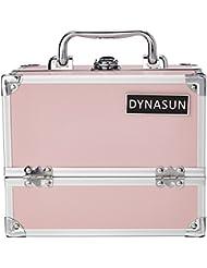 DynaSun en aluminium Design Beauty Case Compartiment Mallette à maquillage cosmétiques bijoux valise