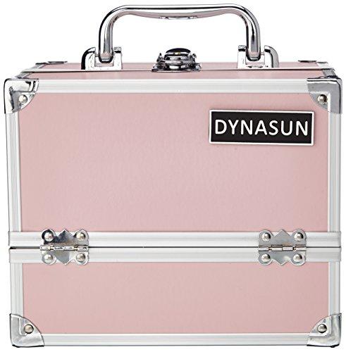 Estructura Beauty Case DynaSun BS35 rosa/Rosa joyas con maletín de maquillaje maletín...