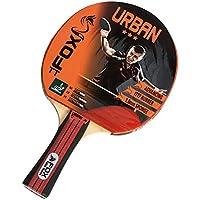 Fox TT Urban 3 Star Table Tennis Bat - Red