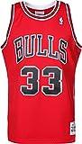 Mitchell & Ness Scottie Pippen #33 Chicago Bulls 1997-98 Swingman NBA Trikot Rot, L