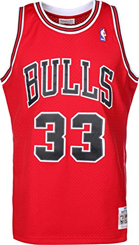 Mitchell & Ness Chicago Bulls Scottie Pipen débardeur red