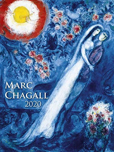 Marc Chagall 2020 - Bildkalender (42 x 56) - Kunstkalender - 5-Farbdruck - Wandkalender - Malerei