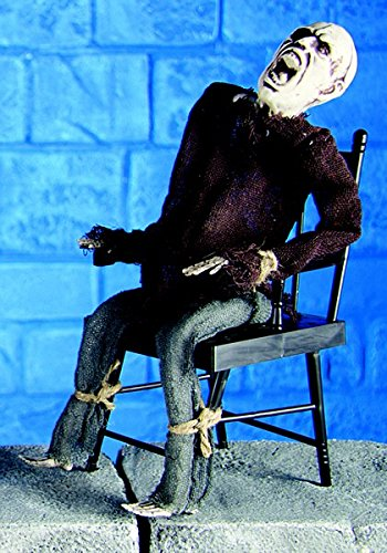 Premier Halloween Scarey Animierter Killer Skelett im Stuhl