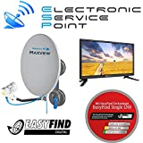 ESP Travel Kit Maxview Remora 40 Easy Find + Opticum LCD TV 20""